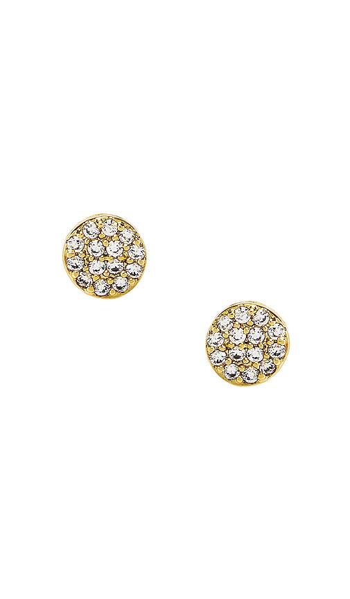 Gorjana Womens Pristine Shimmer Stud Earrings