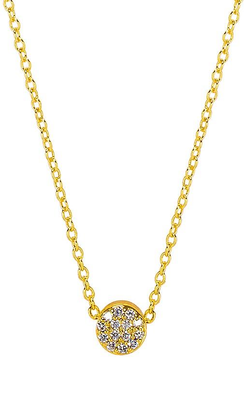 Adjustable Pristine Shimmer Charm Necklace
