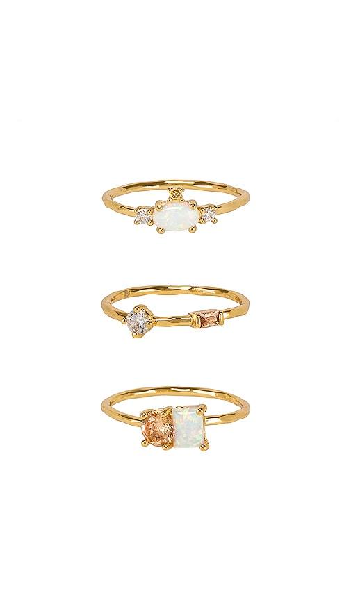 Hudson Ring Set