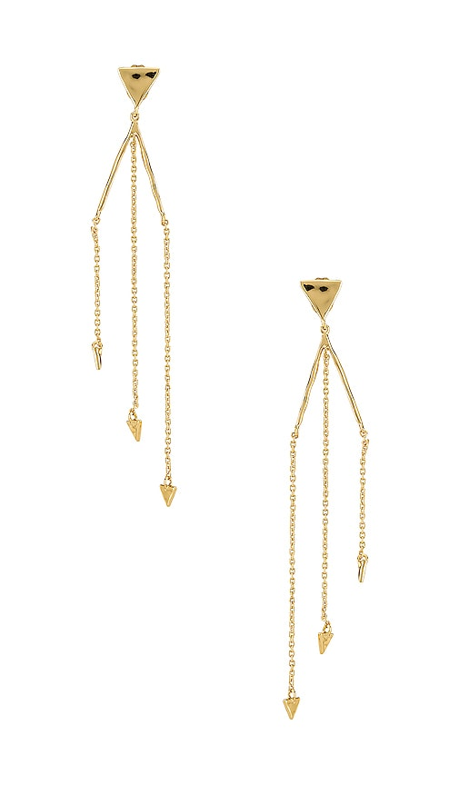 Luca Triangle Earrings