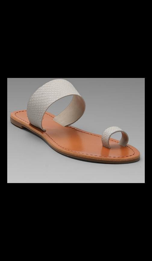 Del Mar Leather Sandal