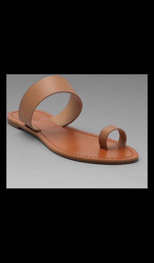 Del Mar Leather Sandal