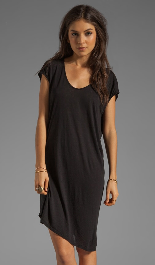 Modal Slub Shirt Dress