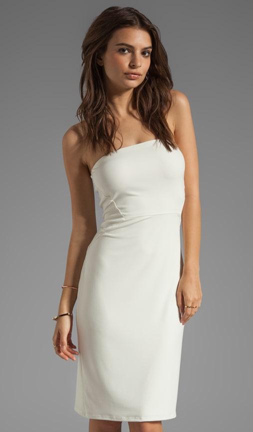 Stretch Jersey Strapless Dress