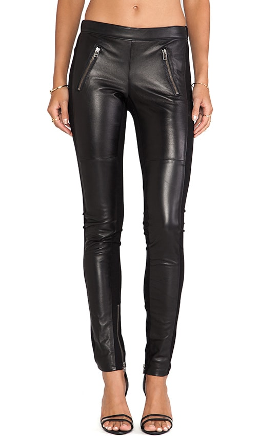 Ponti Leather Pants