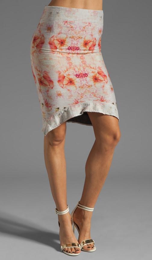 Flora Jacquard Skirt