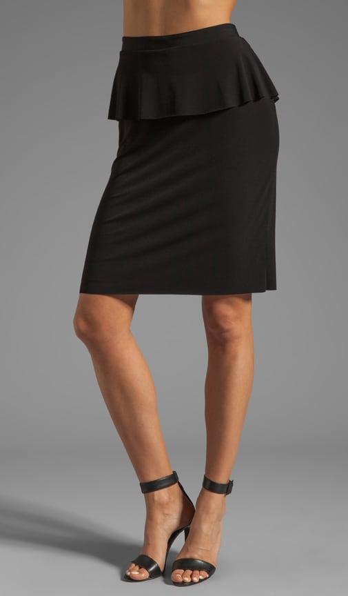Stretch Jersey Skirt
