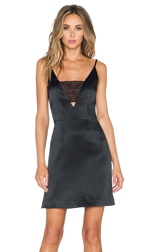 Grace MMXIII Grace Brian Mini Dress in Black