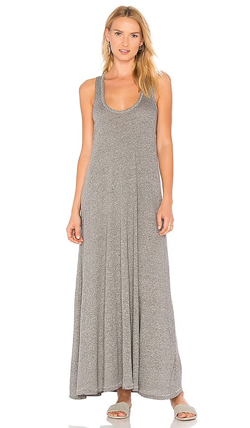 The Great The Swing Tank Maxi Dress in Gray