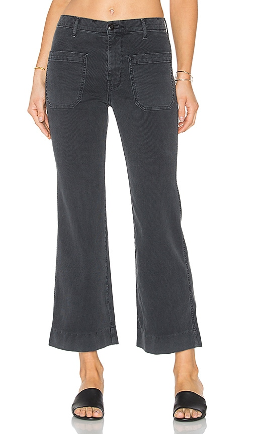 The Great The Cropped Mariner Jean in Charcoal