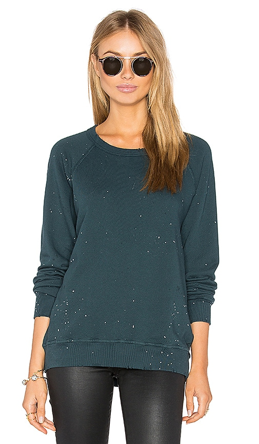 The Great The College Sweatshirt in Teal