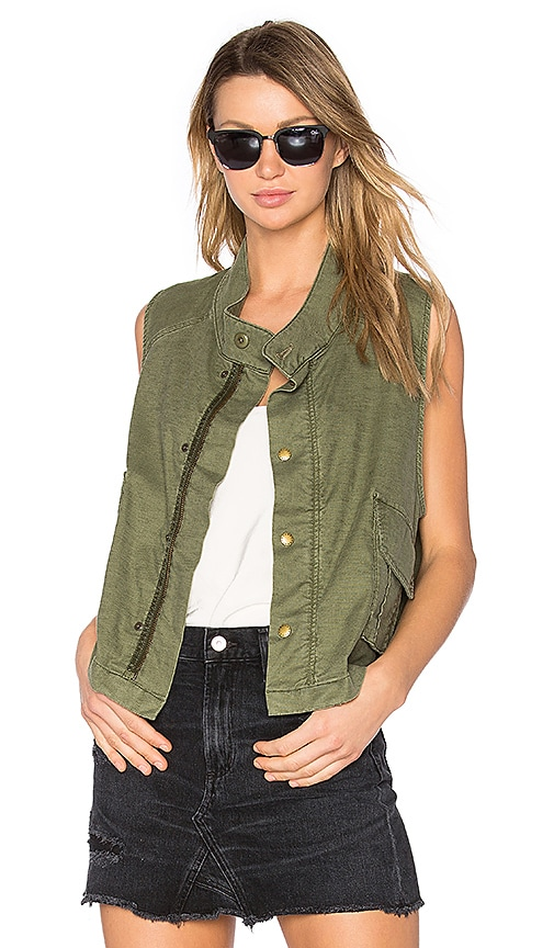 The Great The Army Vest in Green