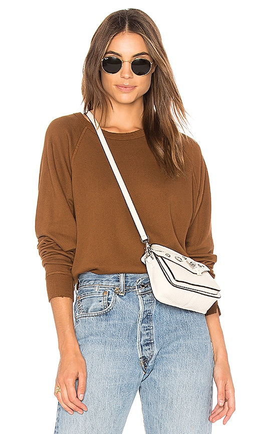 The Great The College Sweatshirt in Brown