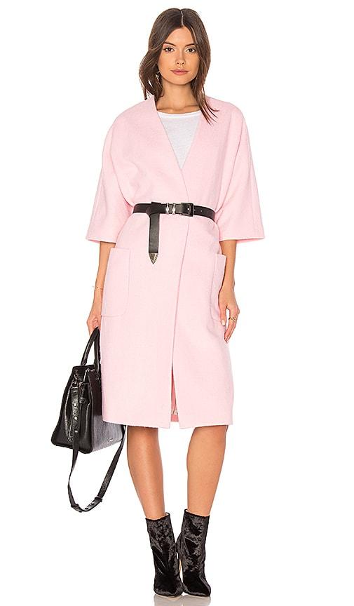 The Great The House Coat in Pink