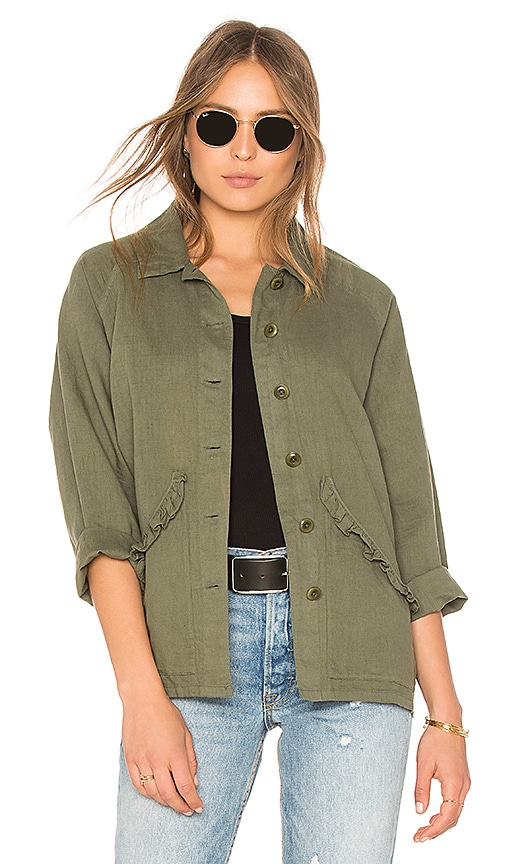 The Great The Tulip Jacket in Army