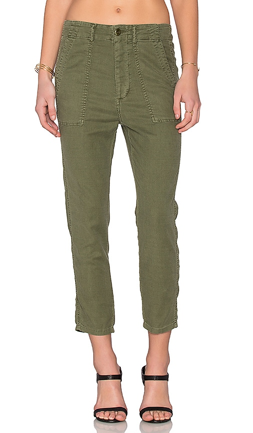 The Great The Slouch Army Pant in Army