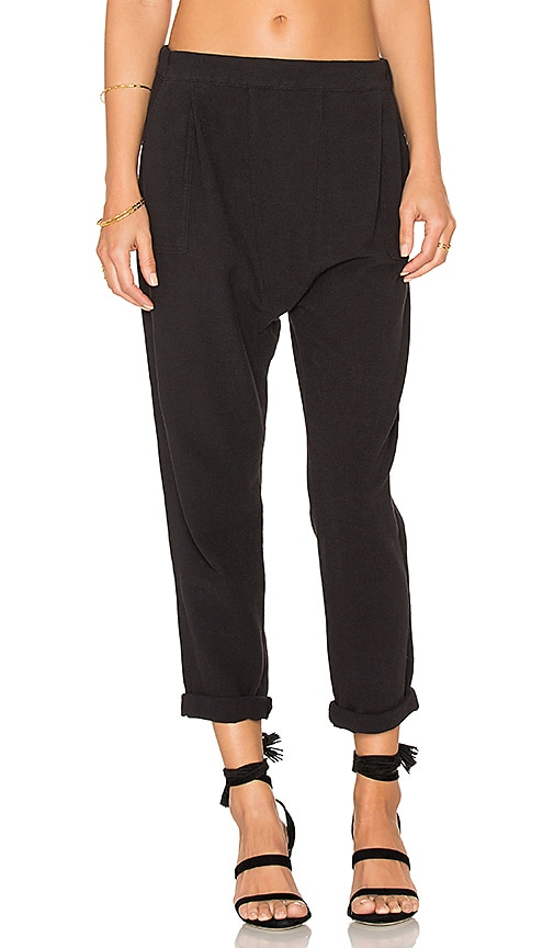 The Great The Harem Pant in Black