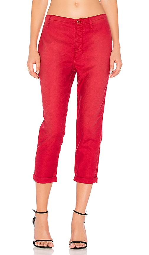 The Great The Carpenter Trouser in Red