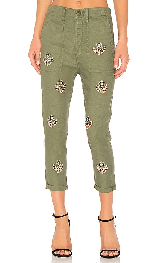 The Great The Slouch Army Pant in Green