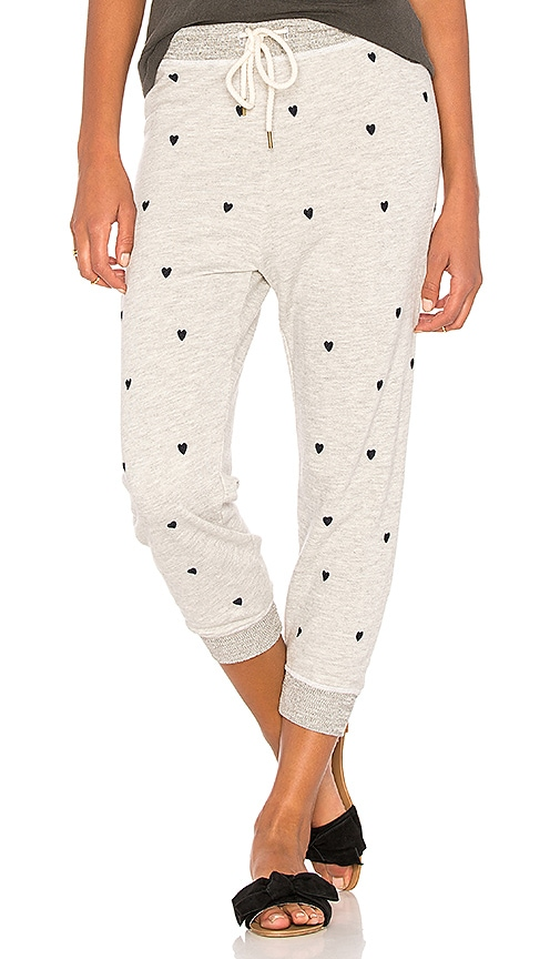 The Great The Crop Sweatpant in Gray
