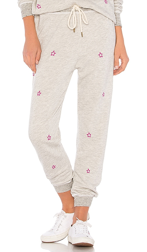 The Great The Cropped Sweatpant in Gray