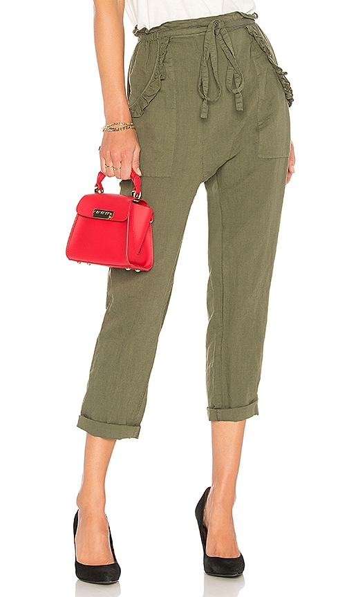 The Great The Tulip Pant in Olive