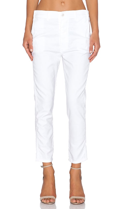The Great The Slouch Slack Pant in White