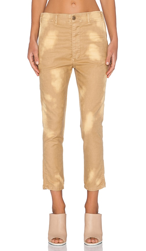 The Great The Slouch Slack Pant in Washed Khaki