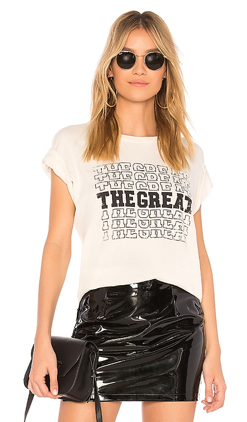 The Great The Boxy Crew Tee in White