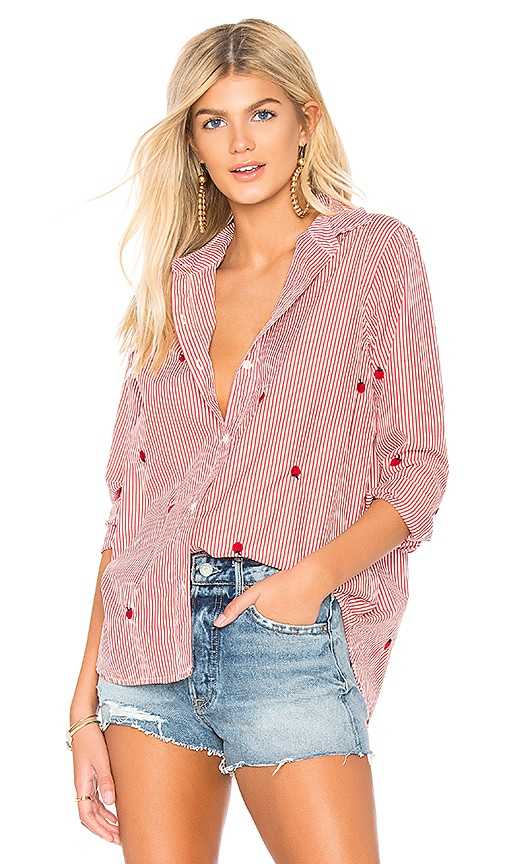 The Great The Artist Blouse in Pink