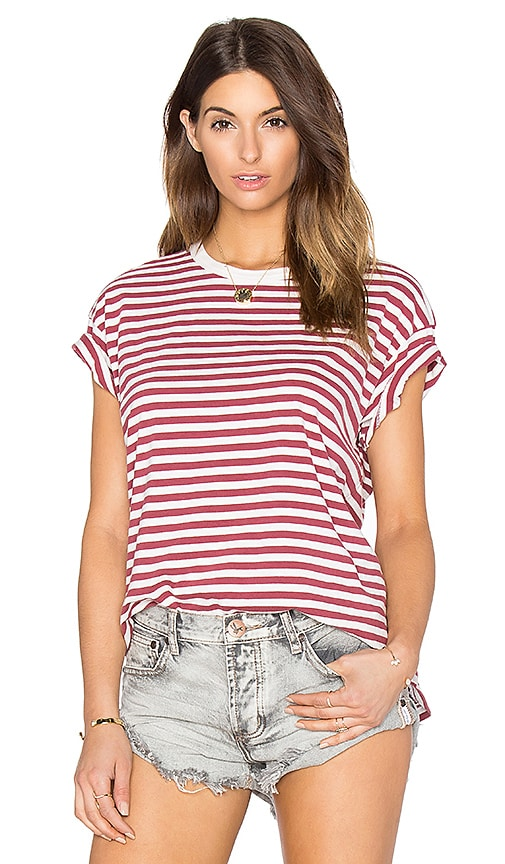 The Great The Boxy Crew Tee in Red