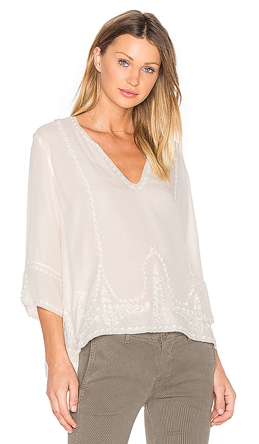 The Great The Folk Top in Cream