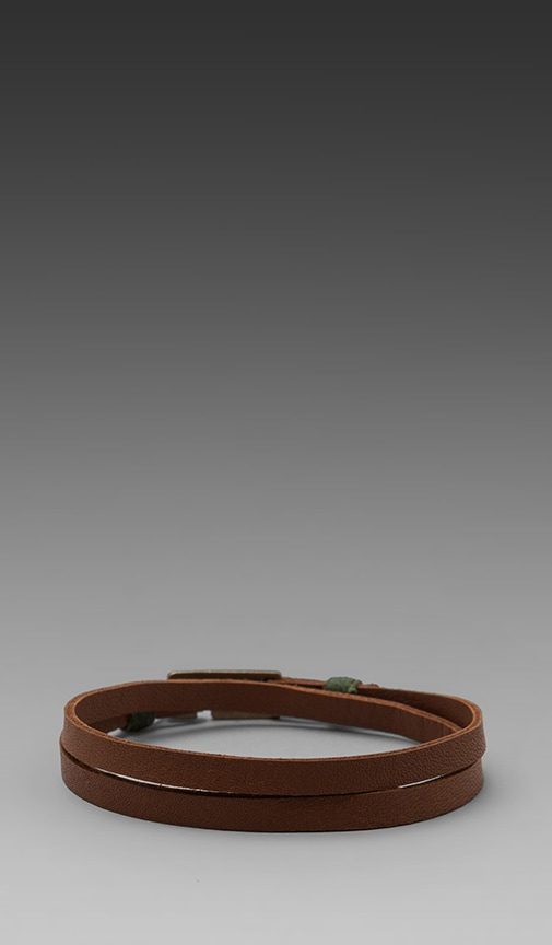 Legend Leather Double Wrap Bracelet
