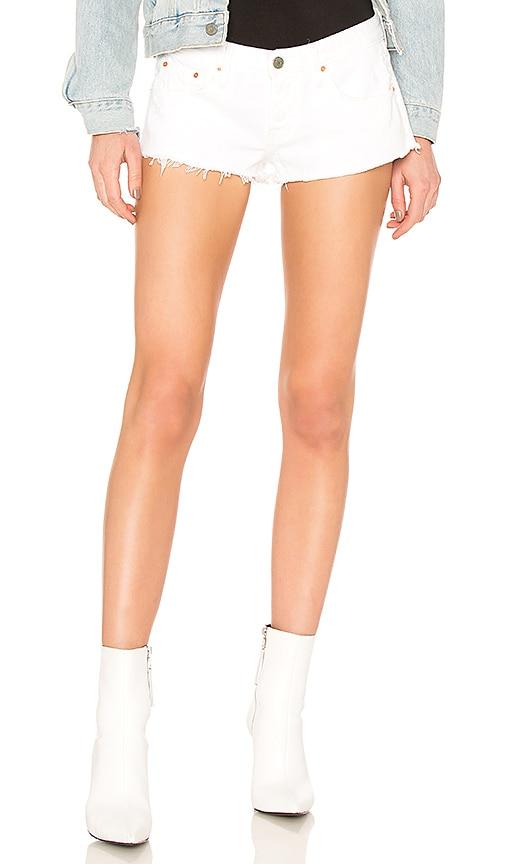 GRLFRND Josie Cut Off Shorts in Blank Space