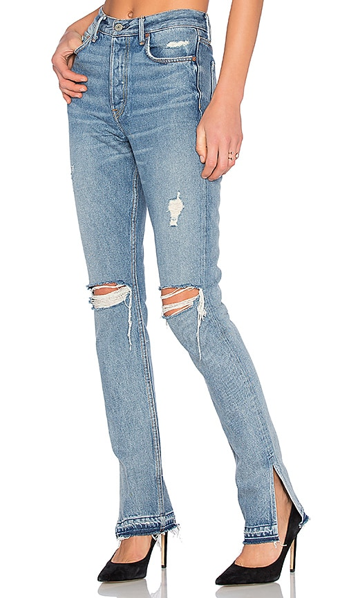 GRLFRND Natalia High-Rise Skinny Jeans in My Heart Belongs to Me