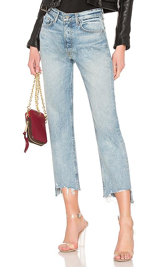 Helena Crop High-Rise Straight Jean