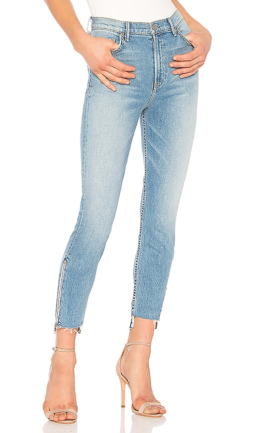 GRLFRND Kendall Super Stretch High-Rise Skinny Jean in Abolition