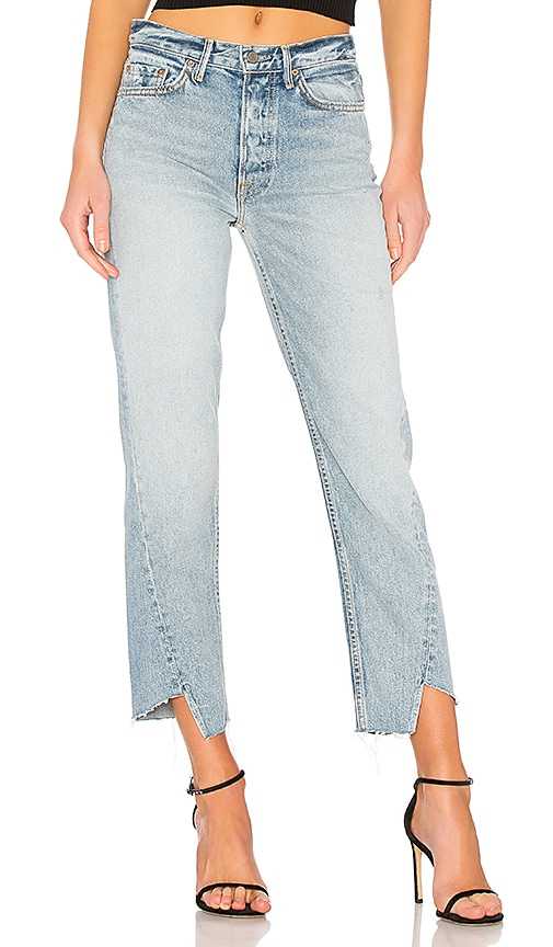 Carmen High-Rise Straight Leg Jean