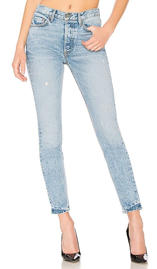 GRLFRND Karolina High-Rise Skinny Jean in Janise