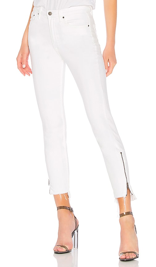 Kendall High-Rise Zipper Jean