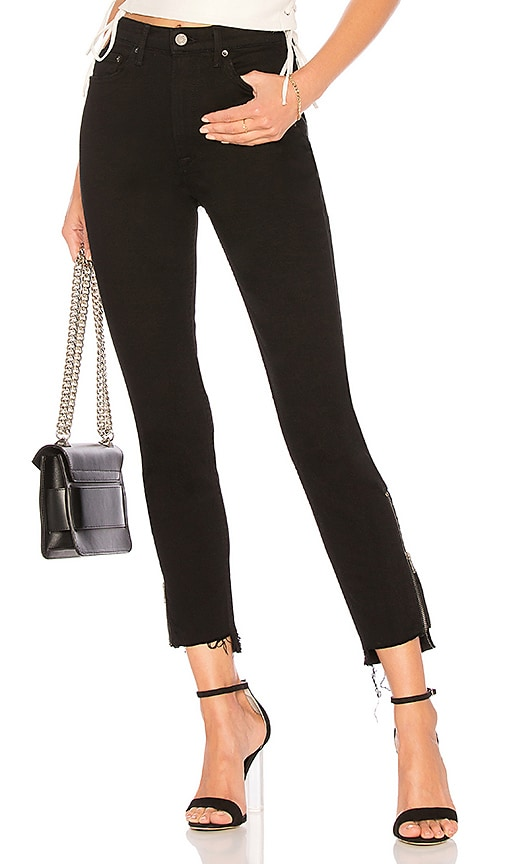 Kendall High Rise Zipper by Grlfrnd