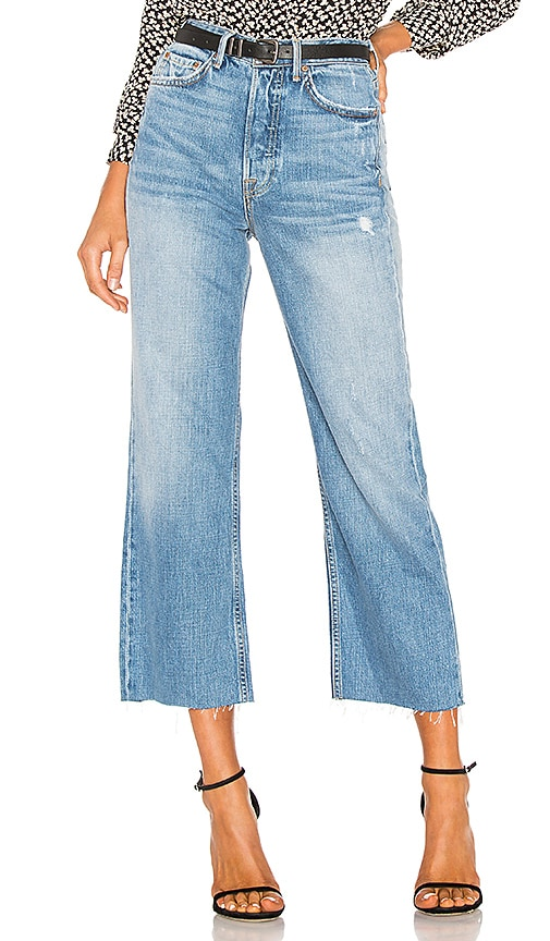 JEAN CROPPED BOBBI