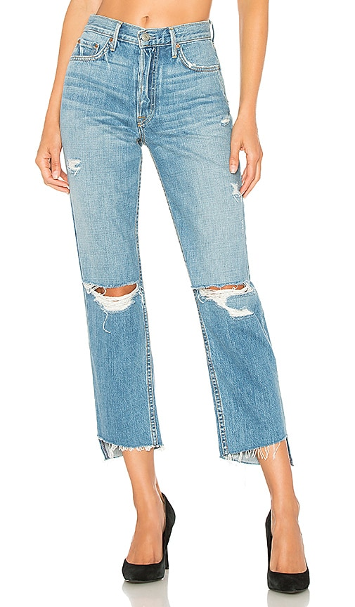 Helena High-Rise Straight Crop Jean