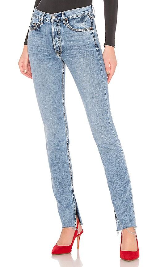 Addison High-Rise Split Boot Jean
