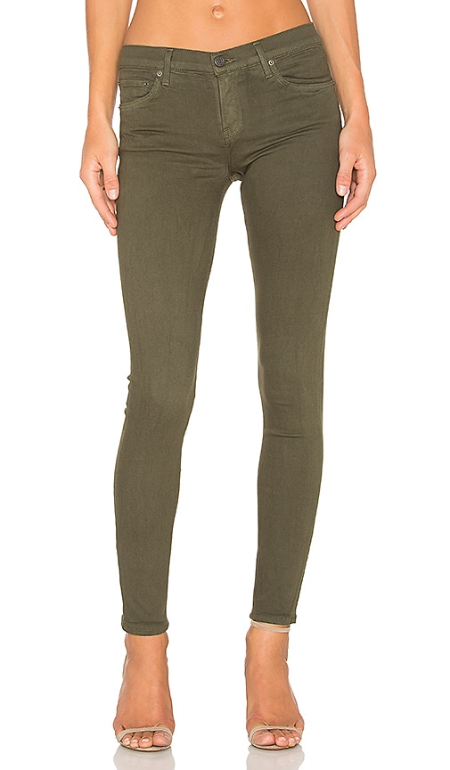 GRLFRND Candice Super Stretch Mid-Rise Skinny Jean in Delta Dawn