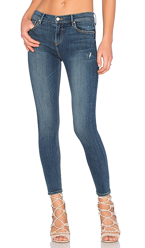 GRLFRND Candice Mid-Rise Super Stretch Skinny Jean in Medium You and Me Against the World