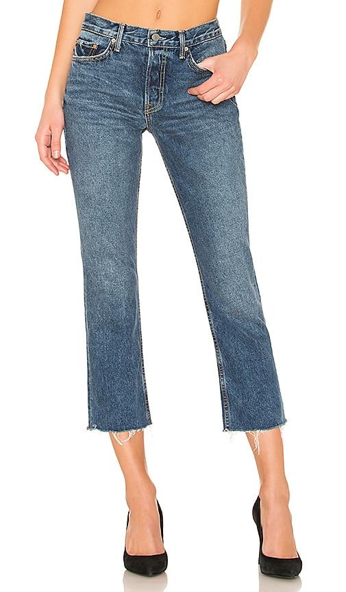 Tatum Mid-Rise Micro Boot Jean