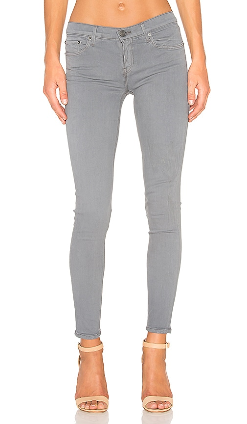 GRLFRND Candice Super Stretch Mid-Rise Skinny Jean in Hitchin' A Rise