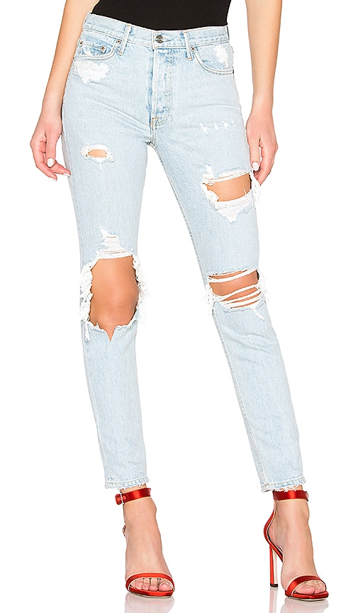 Karolina High-Rise Skinny Long Jean