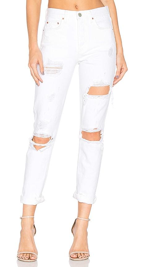 GRLFRND Karolina High-Rise Skinny Jean in You Know I'm No Good
